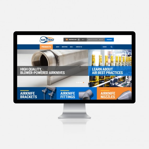 Industrial Products in Ecommerce Solution