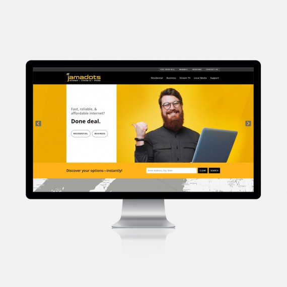 Jamadots Website