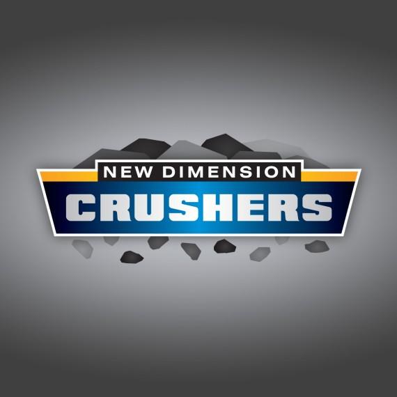 Mobile Rock Crusher Branding  logo