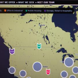 Map-Based Website